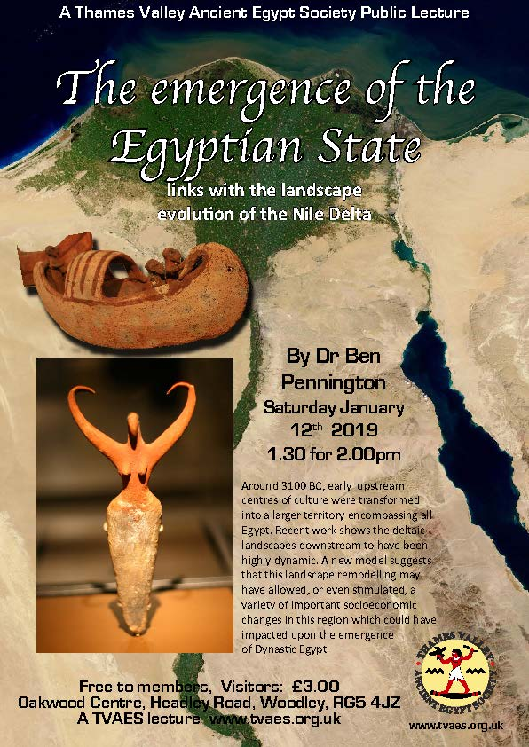 The emergence of the Egyptian State - links with the landscape evolution of the Nile Delta