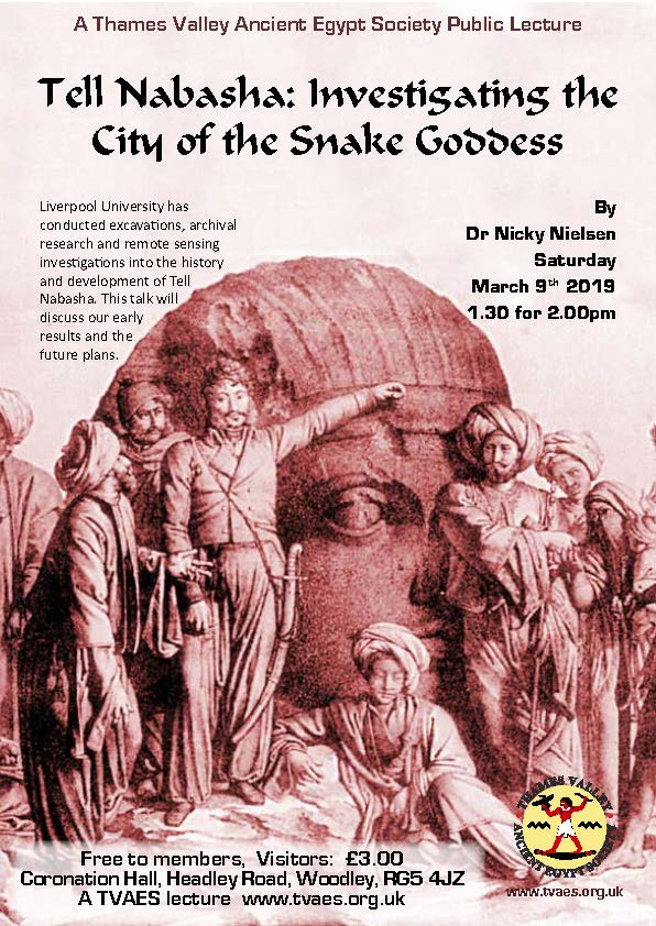 Tell Nabasha: Investigating the City of the Snake Goddess
